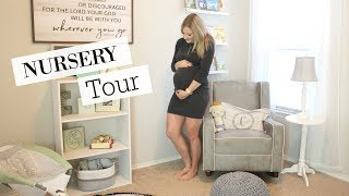 NURSERY TOUR 2017 | CLOSET ORGANIZATION IDEAS | BABY BOY