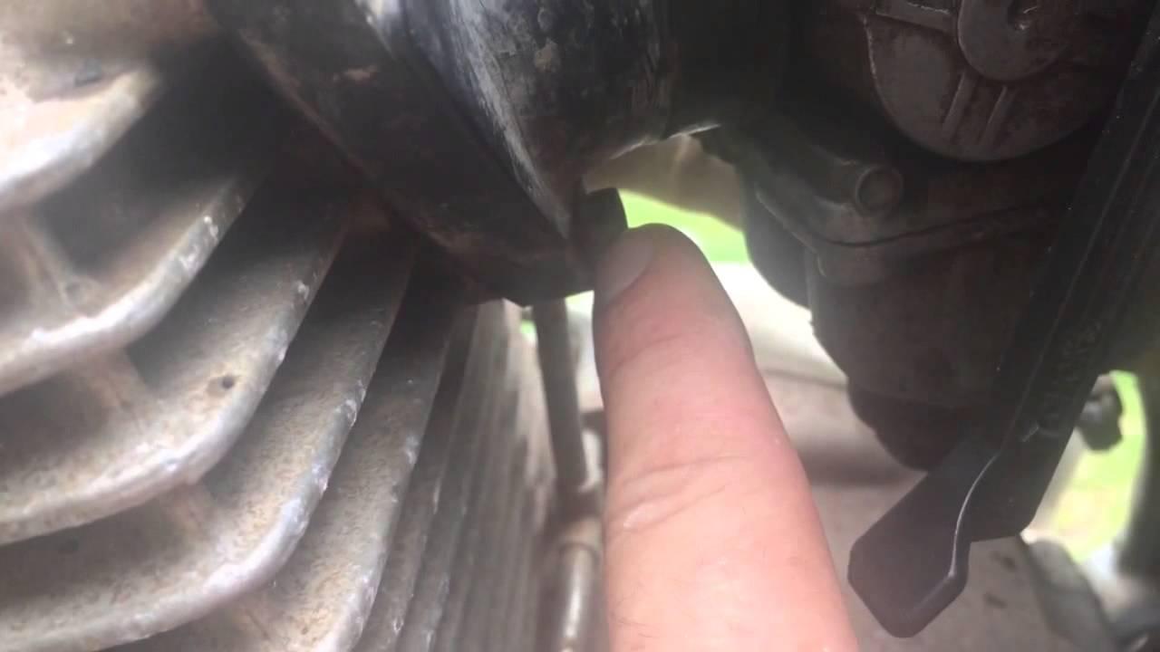2002 XR250 Carb clean and rebuild