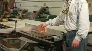 How To Use & Maintain Power Saws : Using Push Block Guard With Table Saw
