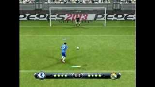 PES 2013 - Penalty shootout [Chelsea vs Real Madrid]