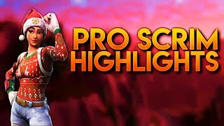 Console Pro Scrims- Highlights (Fortnite Battle Royal)