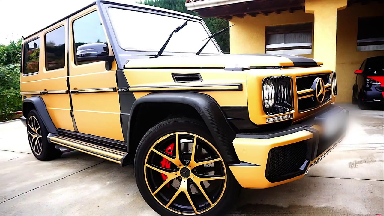 classe g 63 amg gold bross by rivluxure covering youtube. Black Bedroom Furniture Sets. Home Design Ideas