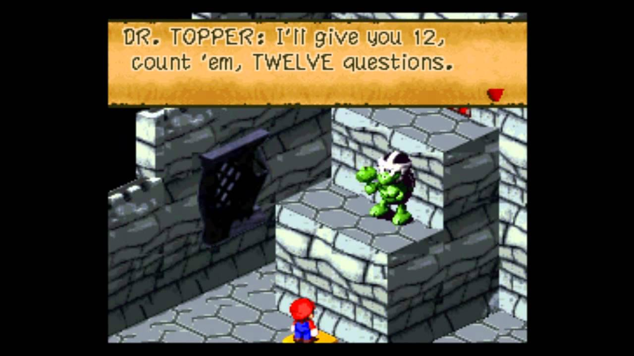 Let S Play Super Mario Rpg 32 The Six Doors 1 3 Puzzle Rooms