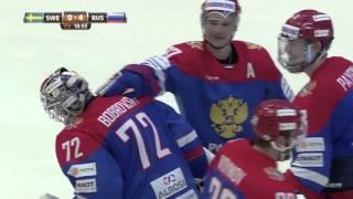 Euro hockey tour 2016 - Sverige vs Ryssland - FIGHT