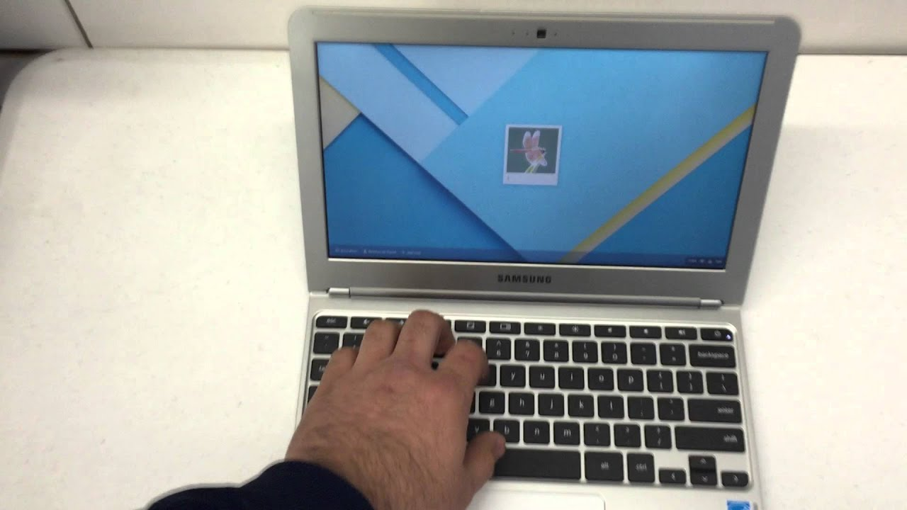 How to hard reset a Chromebook! Remove user and password! Samsung