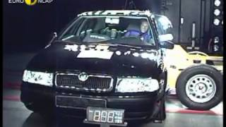 Skoda Octavia 2001 Euro NCAP crash test