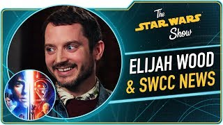 Elijah Wood Talks Star Wars Resistance and Star Wars Celebration Chicago News!
