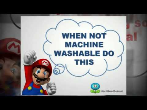 Mario Plush Toy Cleaning Tips