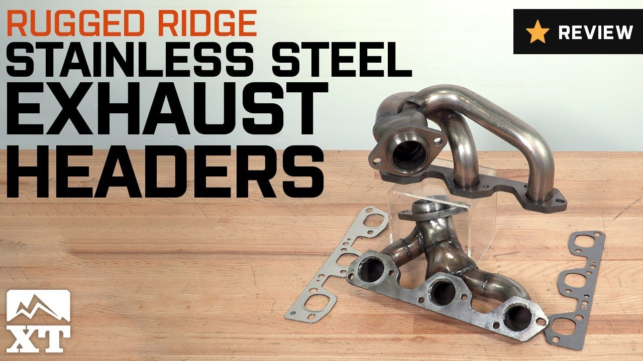 Jeep Wrangler Rugged Ridge Stainless Steel Exhaust Header 2007 2016 3 8l Jk Review