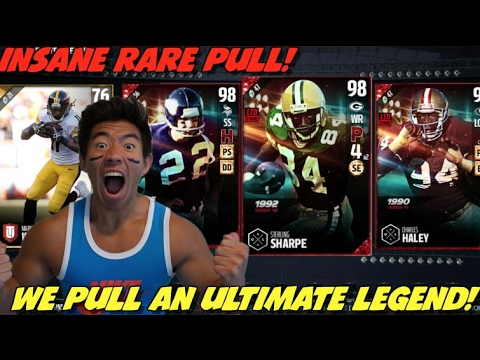 ULTIMATE LEGEND PULL! CRAZY PACK LUCK! MILLIONS COINS WORTH! MADDEN 17 ULTIMATE TEAM PACK OPENING