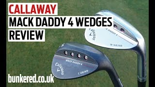 Callaway Mack Daddy 4 wedges review