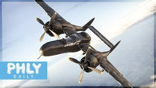 HUNTING THE BIGGEST PLANE IN THE GAME | P-61 Black Widow (War Thunder Bomber Hunting)