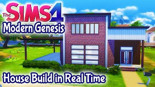 The Sims 4 House Build - Modern Genesis 2 Bedroom Starter Home