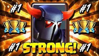 #1 STRONGEST PEKKA DECK IN CLASH ROYALE!! PEKKA IS BACK!!