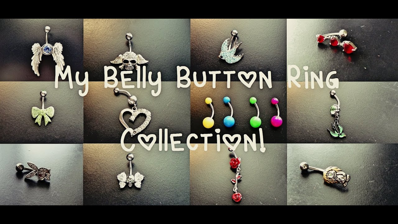 Belly Button Ring Collection! - YouTube