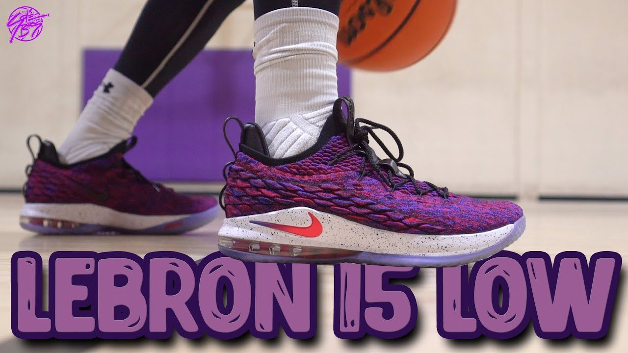 1c364122fbea Nike Lebron 15 Low Performance Review! - YouTube