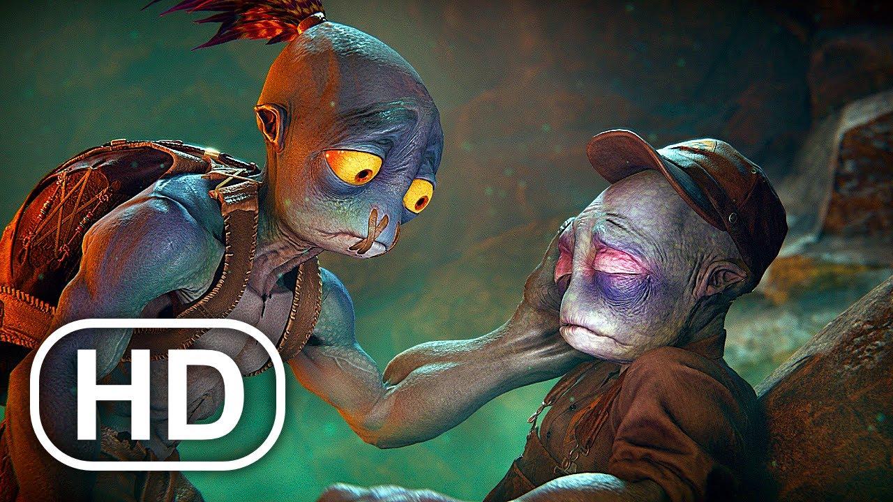 Download ODDWORLD SOULSTORM Full Movie Animation (2021) All Cinematics 4K ULTRA HD