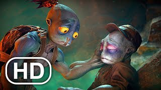 ODDWORLD SOULSTORM Full Movie Animation (2021) All Cinematics 4K ULTRA HD