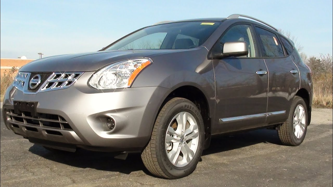 Mvs 2012 Nissan Rogue Sv Awd Youtube