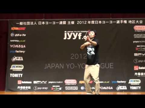 2012 Central Japan Yo-Yo Contest 2A Pre Yoshihiro Matsubara