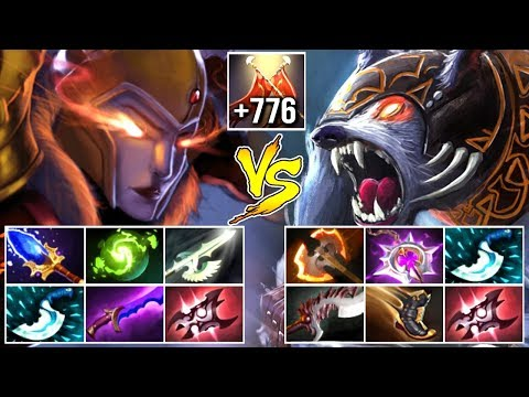 EPIC Non-Stop Duel Scepter LC vs HARD Ursa Late Game Battle Crazy Gameplay by eLeVeN 7.07 Dota 2