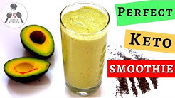 KETO AVOCADO SMOOTHIE | PERFECT LOW CARB SATISFYING SMOOTHIE