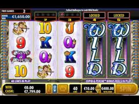 Cupid & Psyche Bally Technologies Online Slots Machine - Free Play Preview