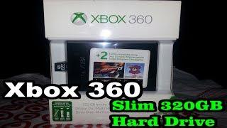 Xbox 360 | 320GB Hard Drive Unboxing