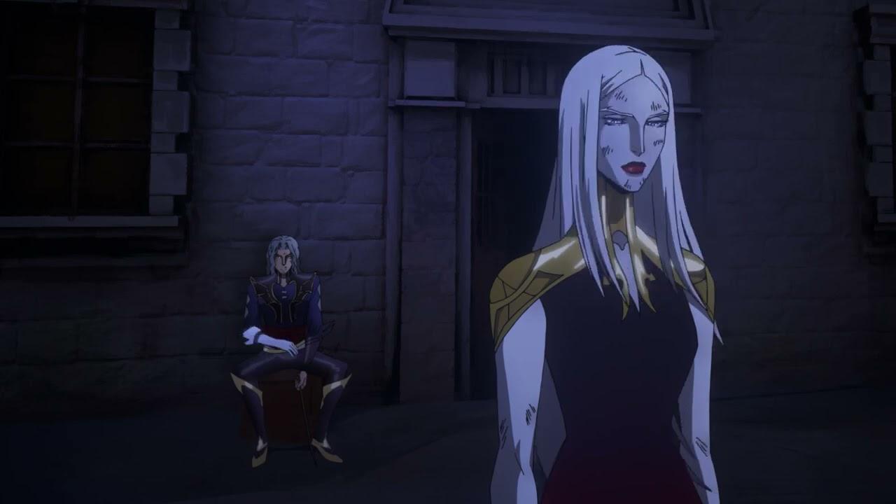 Download Carmilla enslaves Hector - Part 1 - Castlevania Season 2 Episode 8 Scene