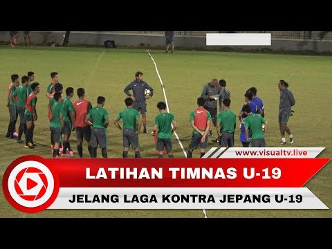 Jelang Indonesia U-19 Vs Jepang U-19, Egy dkk Latihan di Kompleks GBK