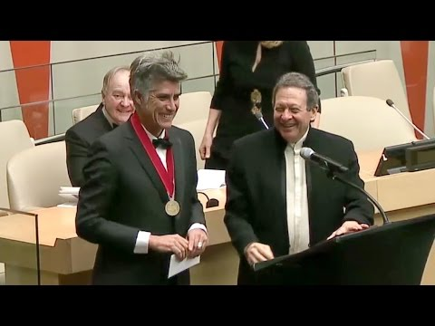 2016 Pritzker Architecture Prize Ceremony at the UN in collaboration with the SDG Fund