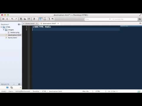 HTML Action Attribute  |  HTML Tutorials