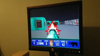 Wolfenstein 3D DOS Gameplay (Final Bossfight)