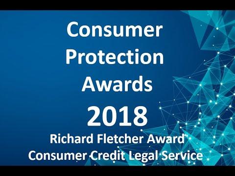 Consumer Protection Award 2018 Richard Fletcher Award - Consumer Credit Legal Service