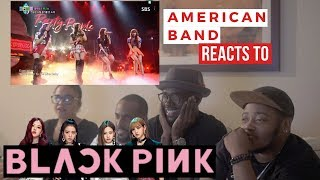 Gambar cover AMERICAN MUSICIANS 1st TIME React to BLACKPINK's Sure Thing, Playing With Fire & Boombayah