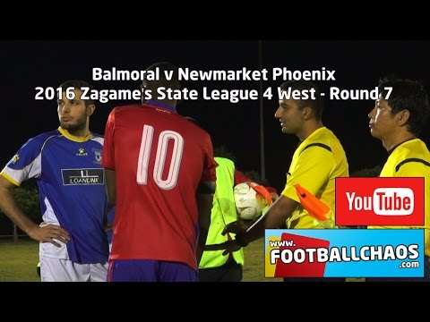 2016 FFV State 4 W Rd 7 - Balmoral v Newmarket Phoenix
