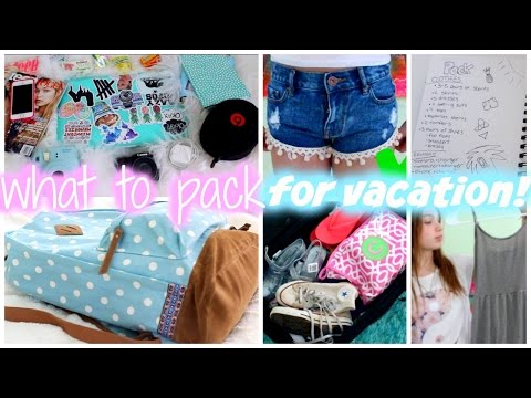 Packing for Vacation ♡ Steps, Tips, and What's in my Carry On