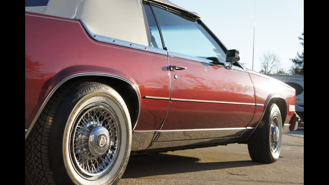 1984 Cadillac Eldorado Biarritz Convertible For Sale - YouTube