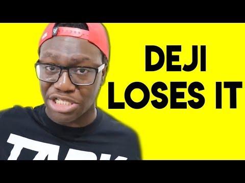 CRAZY!! Deji LOSES IT With KSI (KSI Caught LYING)