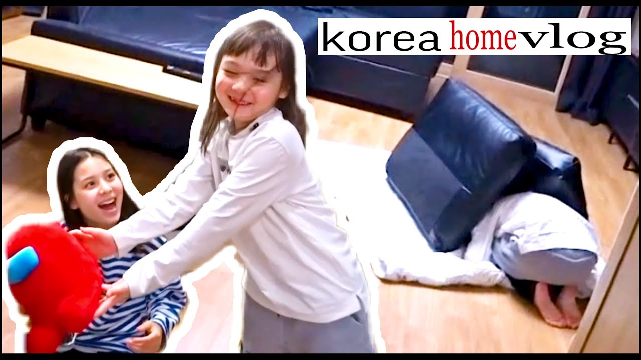 Семейный вечер в Корее / Спонтанный влог ;)