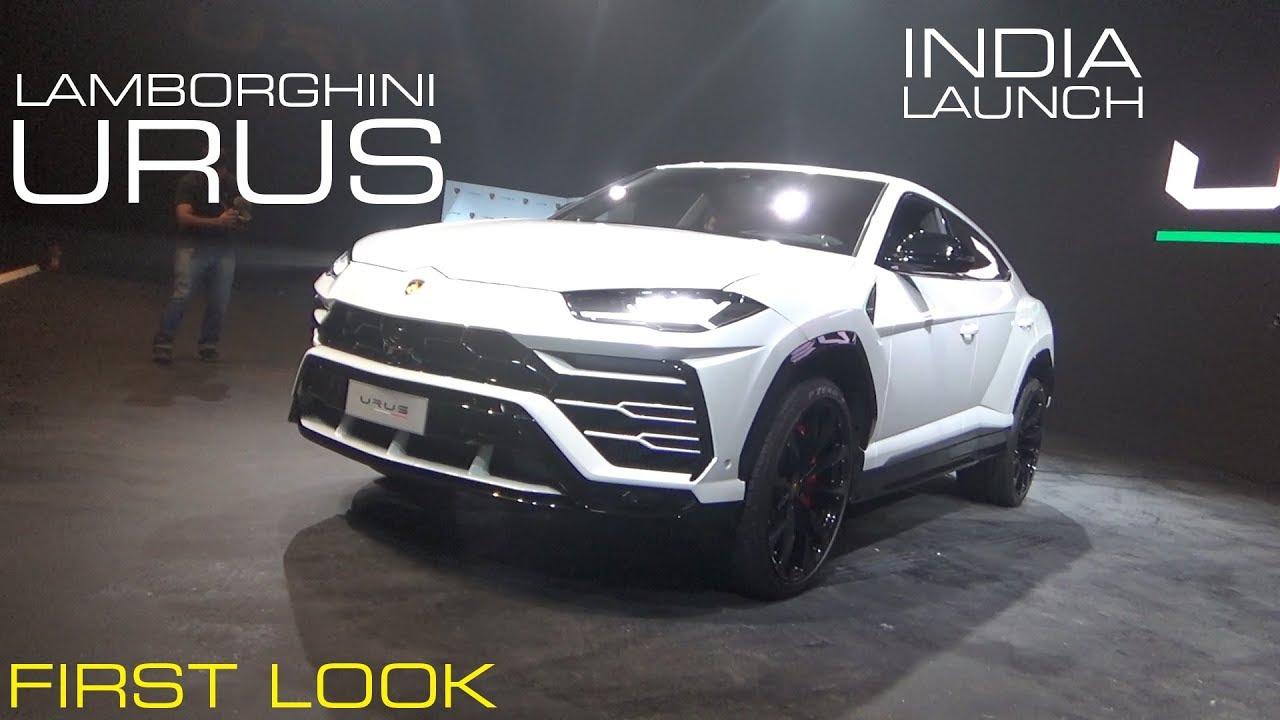 Lamborghini Urus - 11 January 2018