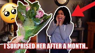 Surprising My Girlfriend After Not Seeing Her For a Month | Very Emotional