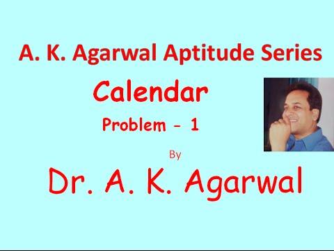 Calendar, Problem 1,