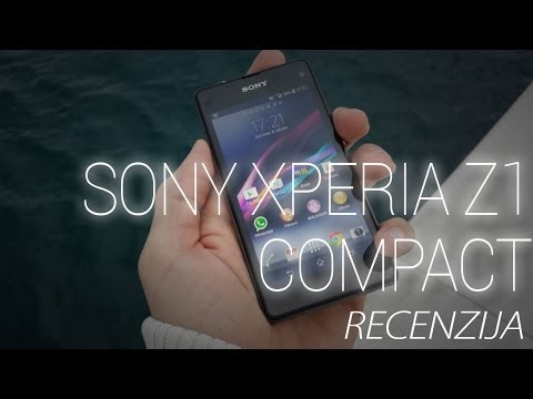 Sony Xperia Z1 Compact Video Recenzija