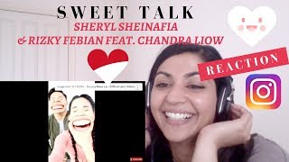 Sheryl Sheinafia & Rizky Febian Feat. Chandra Liow - Sweet Talk-- Reaction Video MP3
