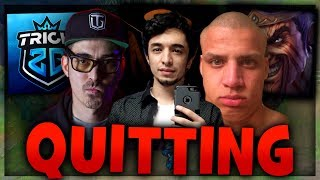 NIGHTBLUE3, TYLER1 AND TRICK2G QUITS LEAGUE!