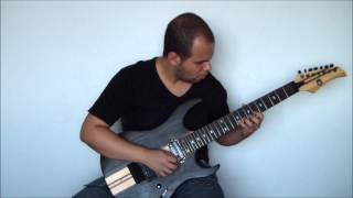 Justice League Unlimited Theme - Guitar cover by Rodrigo de Oliveira