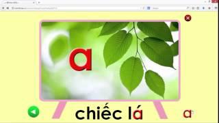 Dạy bé học chữ cái tiếng Việt - chữ A  ( dạy bé học các loài vật)