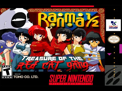 Forgotten Games Reviews: Ranma 1/2 - Treasure of the Red Cat Gang