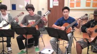 Chasing Dragons perf. by Punahou School Classic Guitar Ens. II